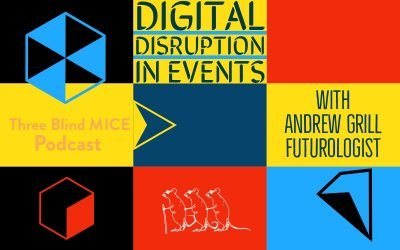 Digital Disruption in Events with futurologist Andrew Grill : Episode 007